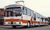 Double-ended Prototype Mercedes-benz O305g Guided Bus