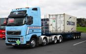 Volvo,  Normans Transport, Auckland