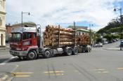 Mitsubishi,  Dunedin Carrying Co,  Port Chalmers