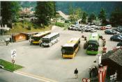Grindelwald Bus Station,switzerland.
